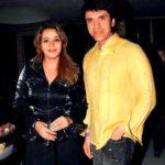Sooraj Thapar with Roma Navani