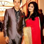Sooraj Thapar with his wife Deepti Dhyani