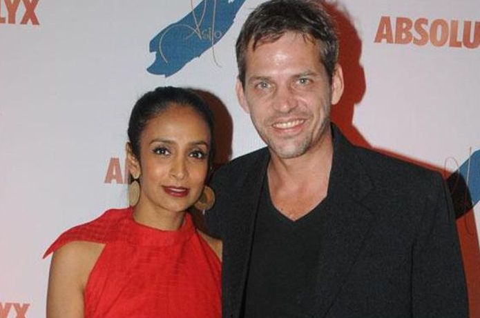 Suchitra pillai and husband Lars Kjeldsen