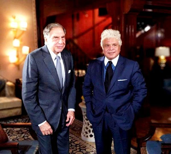 Suhel Seth with Ratan Tata