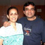 Swaroop Sampat with her husband Paresh Rawal