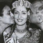 Swaroop Sampat with her parents