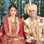 Tanvi Vyas and Harsh Nagar marriage photo
