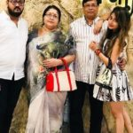 Tina Datta with her family