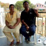 Vijay Barse with his wife Rachana