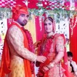 Vinesh Phogat and Somvir Rathi's marriage photo