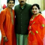 Yash Dholye with his parents