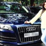 Zareen Khan's Audi Q7