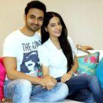 Amrita Rao with her husband RJ Anmol