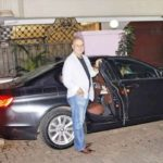 Anupam Kher With His BMW