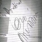 Anupam Kher's Autograph