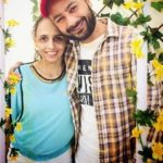 Bunty Bains with his wife
