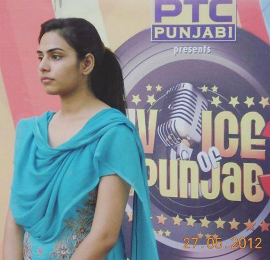 Doctor Hannah during audition of Voice of Punjab 3