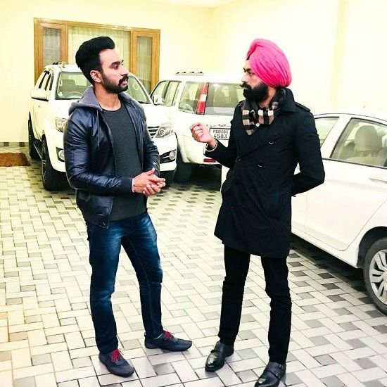 Hardeep Grewal with Tarsem Jassar