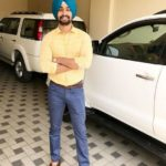Hardeep Grewal with his cars