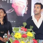 John Abraham With His Sister