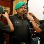 Kapil Dev Being Honoured as Lieutenant Colonel by the Indian Territorial Army