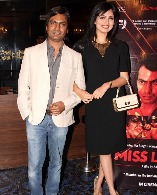 Nawazuddin Siddiqui With His Ex-girlfriend Niharika Singh