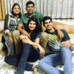 Nidhi Tapadia with her family