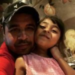 Pankaj Batra with his daughter