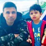 Pankaj Batra with his son