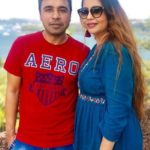 Pankaj Batra with his wife