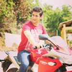 Paras Arora With His Honda CBR