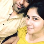 Rochak Kohli with his wife