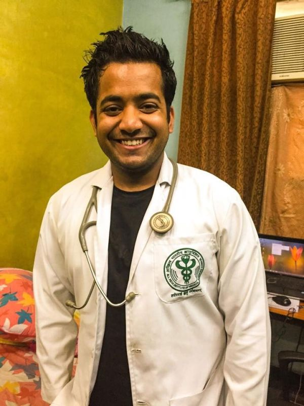 Roman Saini Served at the AIIMS as a Junior Resident