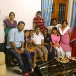 Roman Saini With His Family