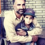 Rosleen Sandlas's father and brother- Childhood Picture