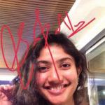 Sai Pallavi's Autograph
