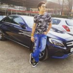 Sharad Malhotra With His Mercedes-Benz