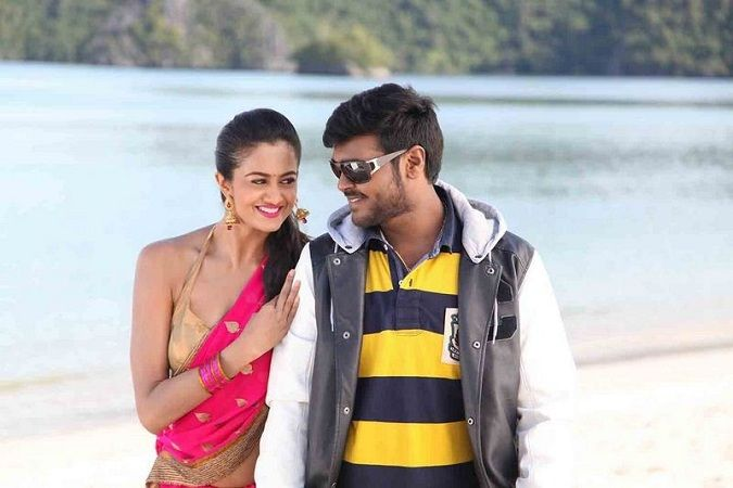 Shubra Aiyappa featuring in 'Sagaptham' with Shanmuga Pandian