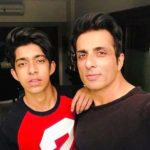 Sonu Sood With His Son Eshaan Sood