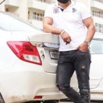 Sukh Sandhu with his car