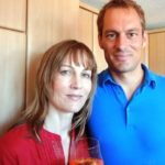 Suzanne Bernert with her brother Philippe Bernert