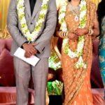 Vishagan Vanangamudi with Kanikha Kumaran