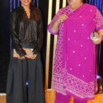 Zoya Akhtar with her mother