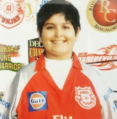 Anirudh Lalit during his teenage