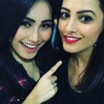 Anita Hassanandani with her sister