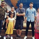 Ankush Bains with his family