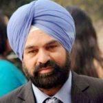 Anmolpreet Singh's father Satvinderpal Singh