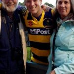 Colin Ingram with his parents
