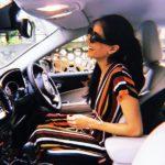 Diva Dhawan Driving Her Audi Car