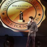 Kartik Aaryan With Dadasaheb Phalke Excellence Award