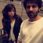 Kartik Aaryan With His Sister