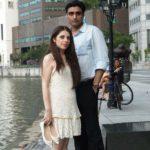 Maha Ali Kazmi With Her Husband Ali Zaidi