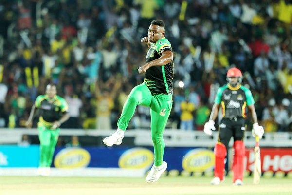Oshane Thomas as a player of 'Jamaica Tallawahs'