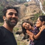 Priyanka Bose With Her Husband And Daughter